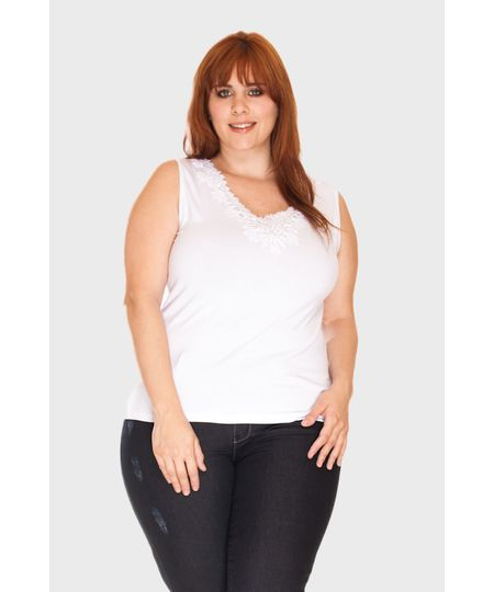 Regata Guipir Plus Size