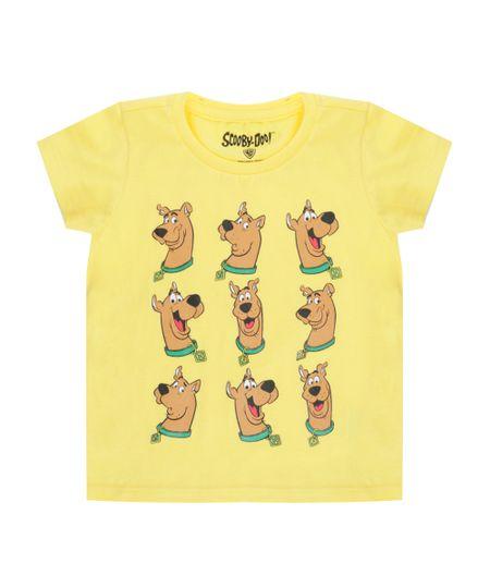 Camiseta Scooby Doo Amarela