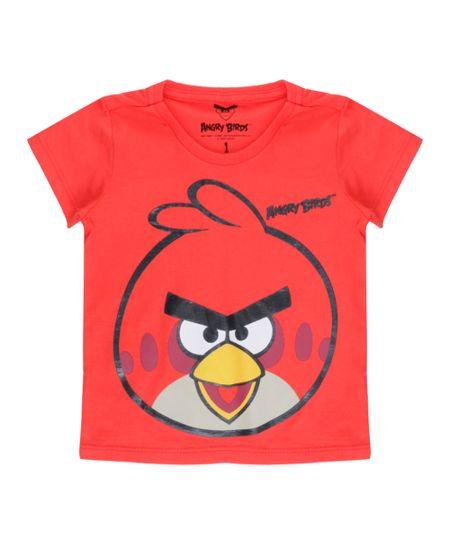 Camiseta Angry Birds Vermelha