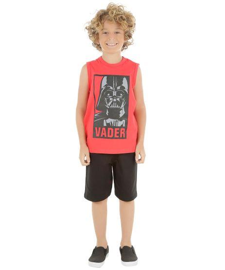 Conjunto-de-Regata-Vermelha---Bermuda-Darth-Vader-Preta-8484368-Preto_1
