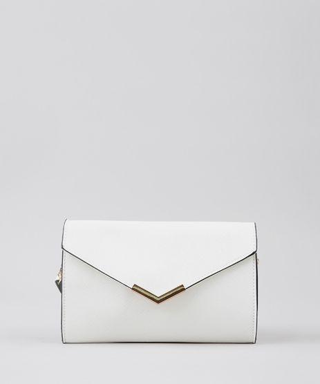 fc9c2861b Bolsa Branca Feminina em promoção - Compre Online - Melhores Preços ...