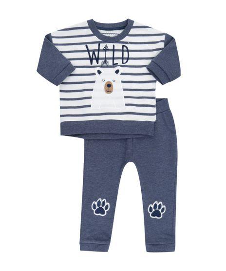 Conjunto-de-Camiseta-Listrada-Off-White---Calca-em-Moletom-Azul-Marinho-8341600-Azul_Marinho_1