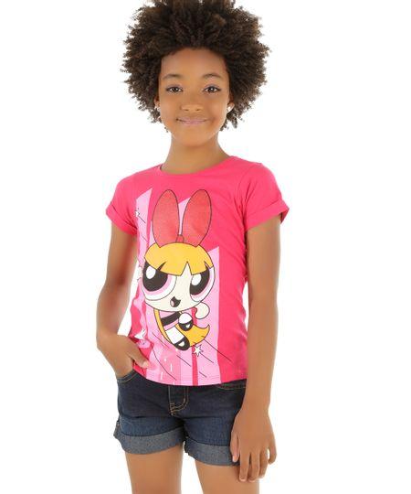 Blusa Florzinho Pink