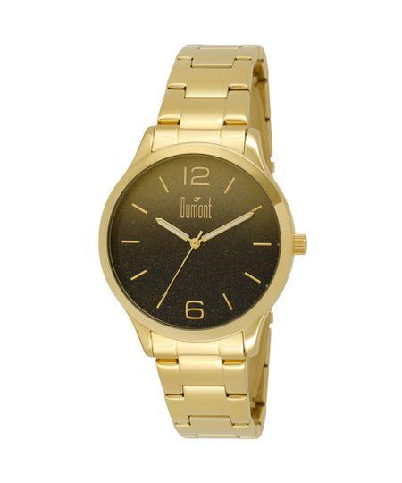 Relógio Dumont Feminino Elements DU2035LNK/4T Dourado