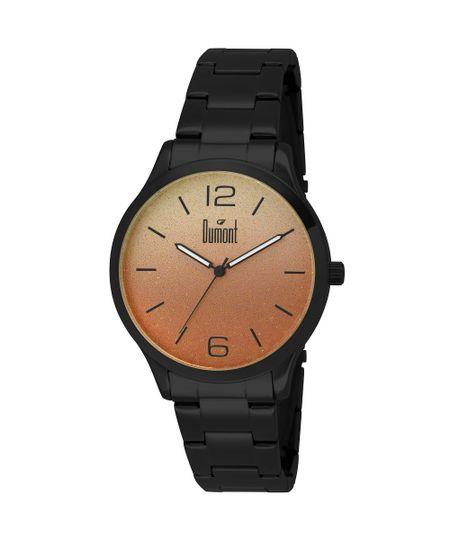 Relógio Dumont Feminino Elements DU2035LNM/4C Preto