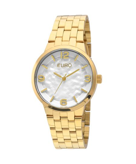 Relógio Euro Irregular Dourado - EU2036LZG/4B