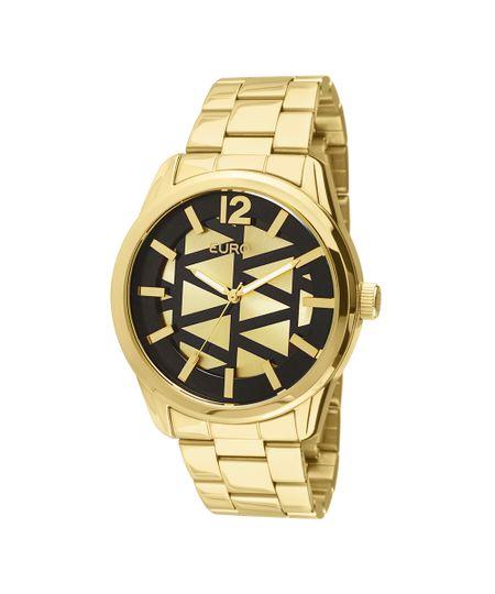 Relógio Euro Feminino Triangular dourado - EU2036LYB/4D