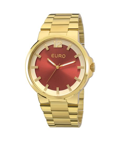 Relógio Euro Feminino Colors EU2035YEE/4R - Dourado