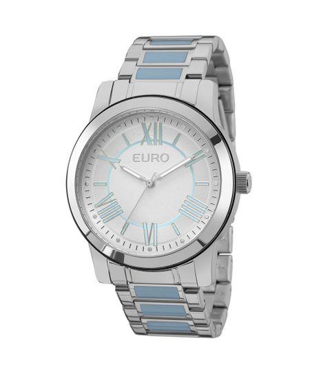 Relógio Euro Feminino Coleção Esmaltados EU2035YEH/5K - Prata