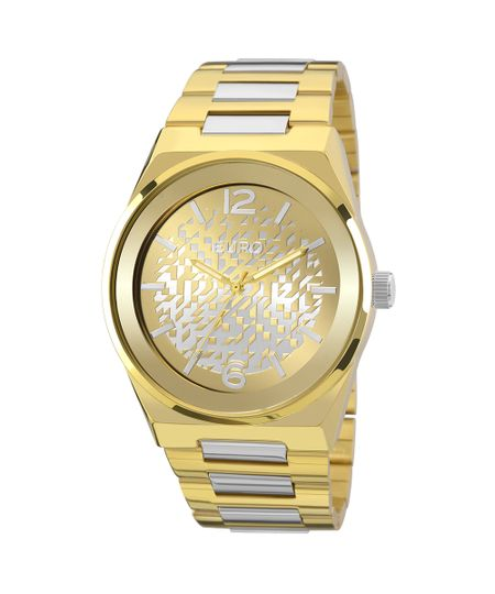 Relógio Euro Feminino Camadas EU2039IV/5D - Dourado