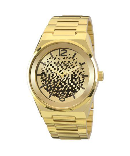 Relógio Euro Feminino Camadas EU2039IW/4D - Dourado