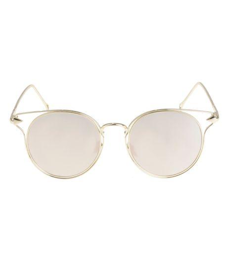 Oculos-Redondo-Feminino-Oneself-Dourado-8524707-Dourado_1