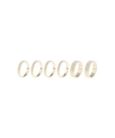 Kit-de-6-Aneis-Texturizados-Dourado-8459377-Dourado_1