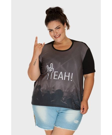 Camiseta Yeah! Plus Size