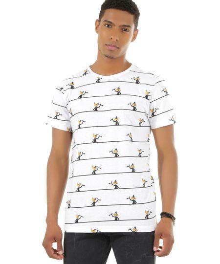 Camiseta Patolino Branca