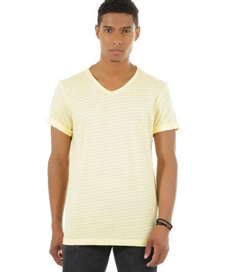 Camiseta-Listrada-Amarela-8494766-Amarelo_1