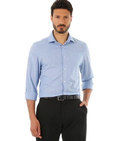 Camisa-Social-Comfort-Xadrez-Azul-8435515-Azul_1