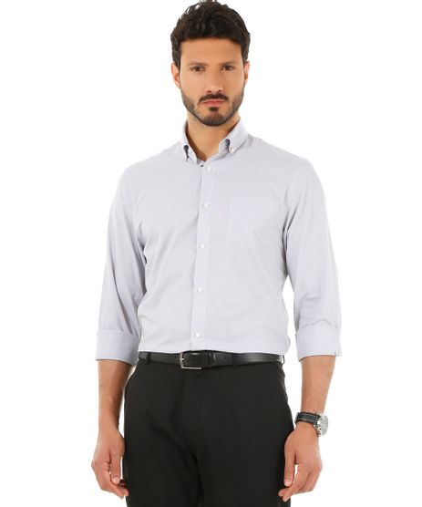 Camisa-Social-Comfort-Cinza-8435532-Cinza_1