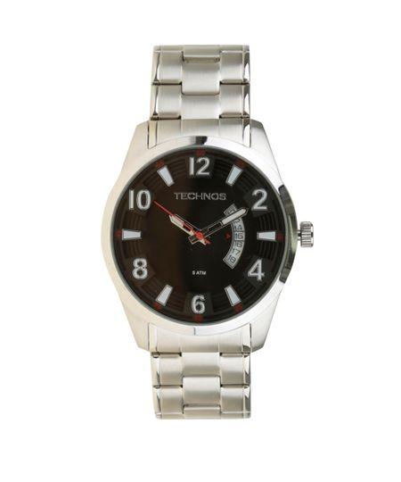 Relógio Technos Analógico Masculino - 2115KSU1R Prateado