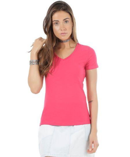 Blusa Flamê Básica Pink