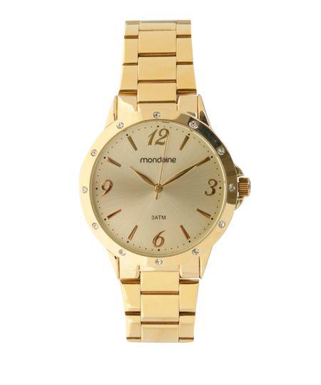 Relógio Mondaine Analógico Feminino -  83315LPMVDE2 Dourado