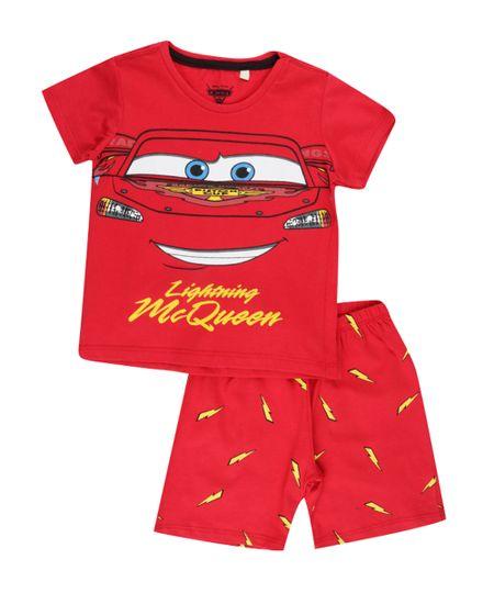 Pijama Carros Vermelho