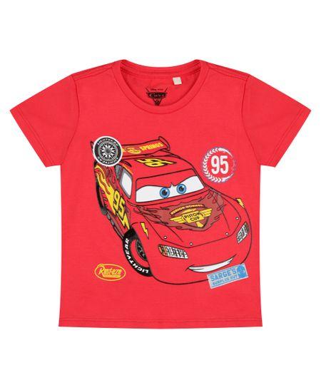 Camiseta Carros Vermelha