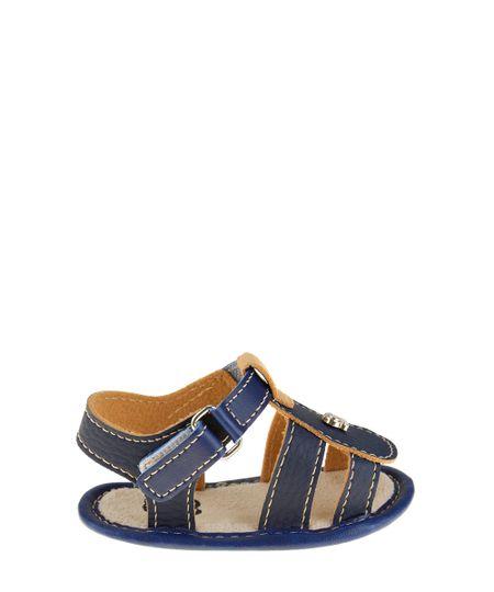 Sandália Papete Pimpolho Azul Marinho