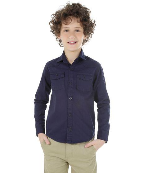 Camisa-com-Bolsos-Azul-Marinho-8453279-Azul_Marinho_1