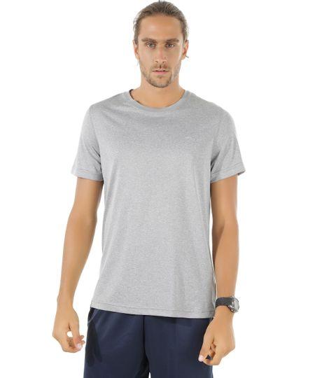 Camiseta Ace Basic Dry Cinza Claro
