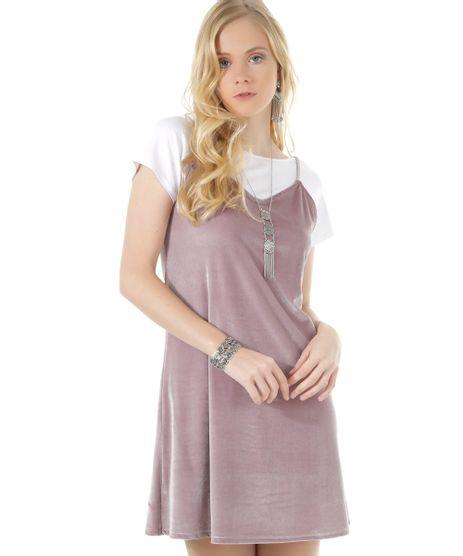 Vestido-em-Veludo-Rosa-8542063-Rosa_1