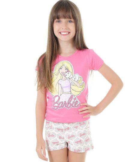 Blusa Barbie Rosa