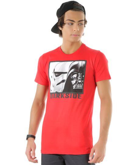 Camiseta Darth Vader Vermelha