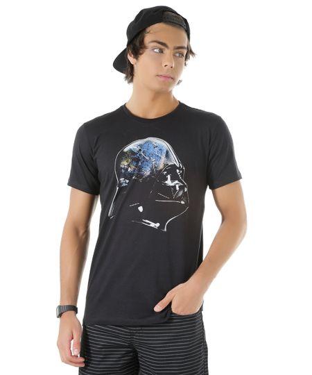Camiseta Darth Vader Preta