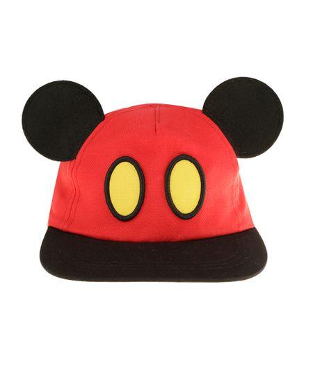 Boné Mickey Vermelho
