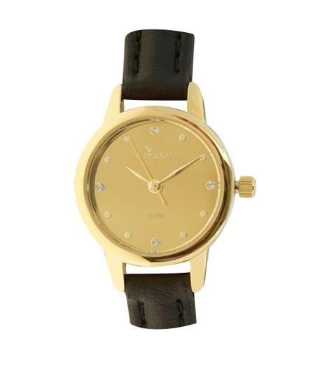 Relógio Analógico Condor Feminino - CO2035KLH2D Dourado