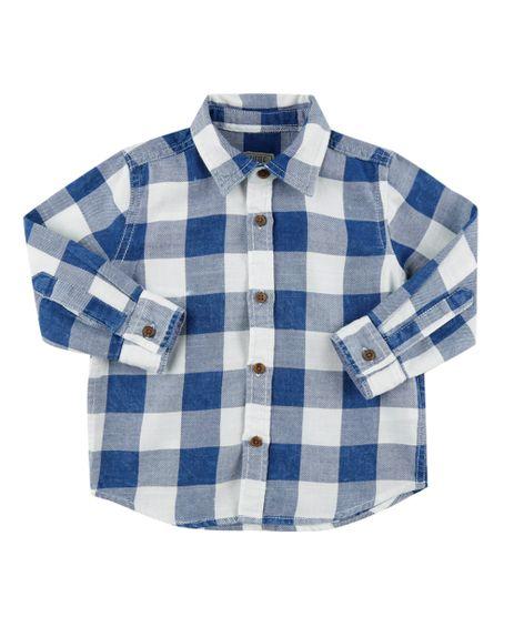 Camisa-Xadrez-em-Flanela-Azul-8441770-Azul_1