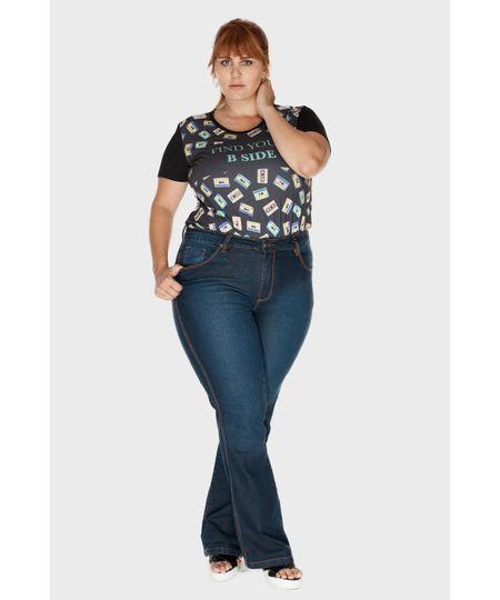Calça Flare Felicia Plus Size