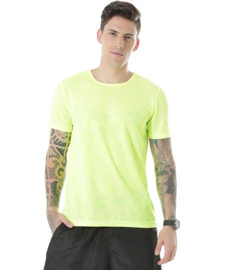 Camiseta de Treino Ace Amarelo Flúor