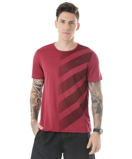 Camiseta de Treino Ace Vinho