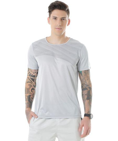 Camiseta de Treino Ace Cinza Claro