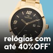25ad293197c Relógios com até 40%OFF