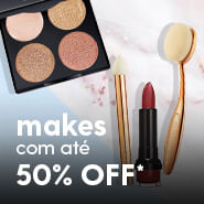 Makes com até 50%OFF*