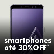 Smartphones com até 30%OFF*