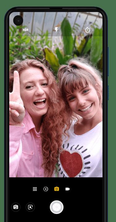 Câmera MotorolaOne Vision