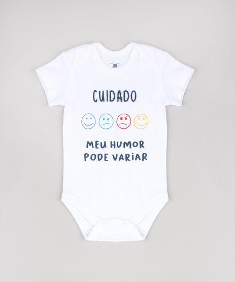 Body-Infantil--Cuidado-Meu-Humor-Pode-Variar--Manga-Curta-Branco-9457030-Branco_1