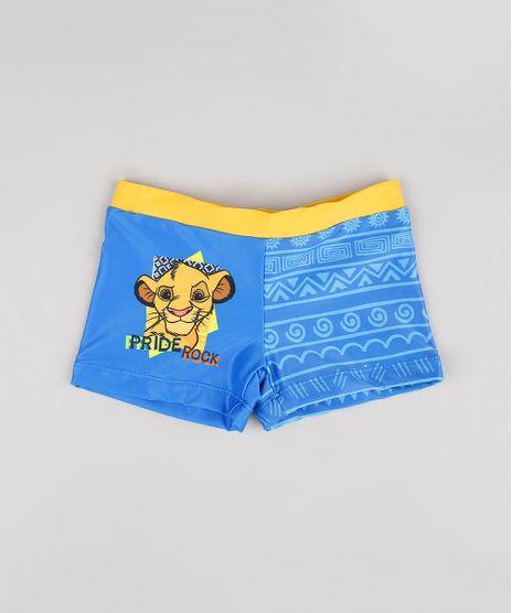 Sunga-Boxer-Infantil-O-Rei-Leao-Simba-com-Protecao-UV-50-Azul-9522487-Azul_1