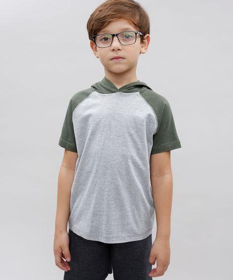 Camiseta-Infantil-Basica-Raglan-com-Capuz-Manga-Curta-Gola-Careca-Cinza-Mescla-Claro-9542395-Cinza_Mescla_Claro_1