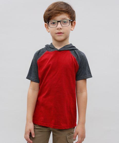 Camiseta-Infantil-Basica-Raglan-com-Capuz-Manga-Curta-Gola-Careca-Vermelho-9542377-Vermelho_1