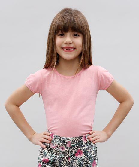 Blusa-Infantil-Basica-com-Brilho-Manga-Curta-Decote-Redondo-Rosa-Claro-9586192-Rosa_Claro_1